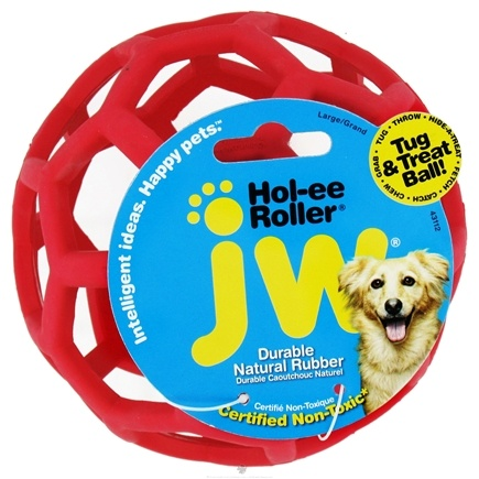 DROPPED: JW Pet Company - Hol-ee Roller Large - 6.5 in. CLEARANCE PRICED