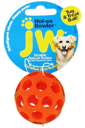 DROPPED: JW Pet Company - Hol-ee Bowler Mini - CLEARANCE PRICED