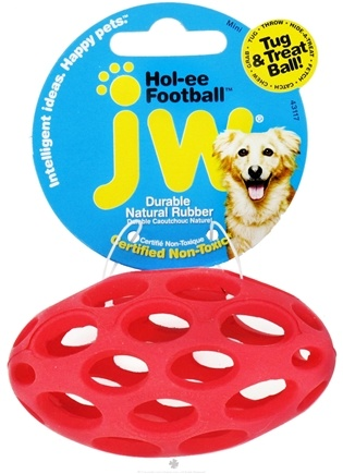 DROPPED: JW Pet Company - Hol-ee Football Mini - CLEARANCE PRICED