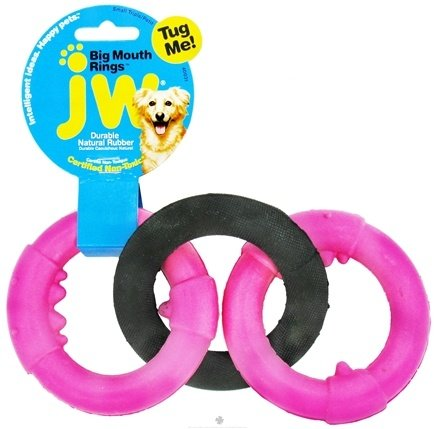 DROPPED: JW Pet Company - Big Mouth Rings Small Triple - CLEARANCE PRICED