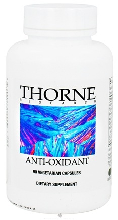 DROPPED: Thorne Research - Anti-Oxidant - 90 Vegetarian Capsules CLEARANCE PRICED