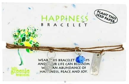 DROPPED: Zorbitz - Happiness Lucky Greenie Bracelet - CLEARANCE PRICEED