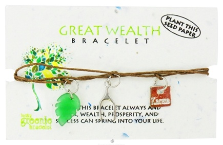 DROPPED: Zorbitz - Great Wealth Lucky Greenie Bracelet - CLEARANCE PRICED