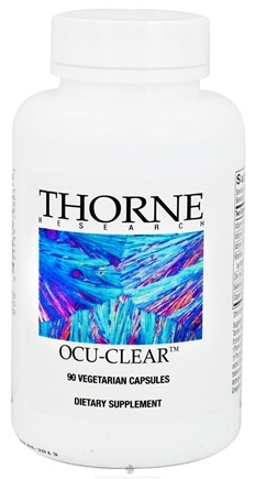 DROPPED: Thorne Research - Ocu-Clear - 90 Vegetarian Capsules