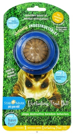 DROPPED: StarMark - Everlasting Treat Ball For Small Dogs - CLEARANCE PRICED