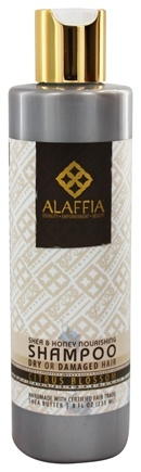 Alaffia - Shampoo Nourishing Shea & Honey - 8 oz.