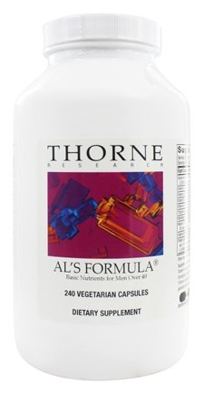 DROPPED: Thorne Research - Al's Formula Basic Nutrients for Men Over 40 - 240 Vegetarian Capsules