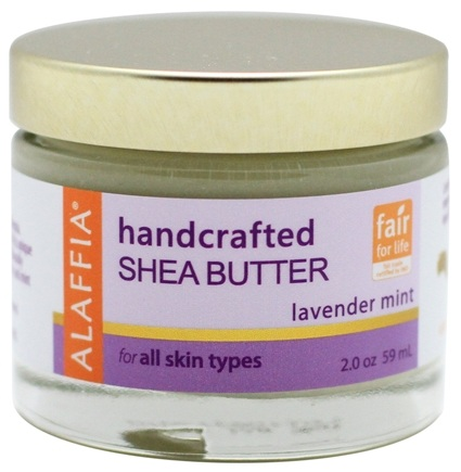 DROPPED: Alaffia - Handcrafted Shea Butter Lavender Mint - 2 oz. CLEARANCE PRICED