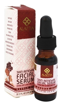 Alaffia - Facial Serum Baobab Oil - 0.5 oz.
