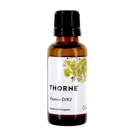 Thorne Research - Vitamin D/K2 Liquid - 1 oz.