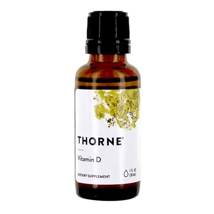Thorne Research - Vitamin D Liquid 1000 IU - 1 oz.