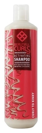 Beautiful Curls - Shampoo Curl Activating Shea Butter For Curly to Kinky Hair - 12 oz.