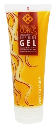 Alaffia - Beautiful Curls Defining Gel for Wavy to Curly Hair - 8 oz.