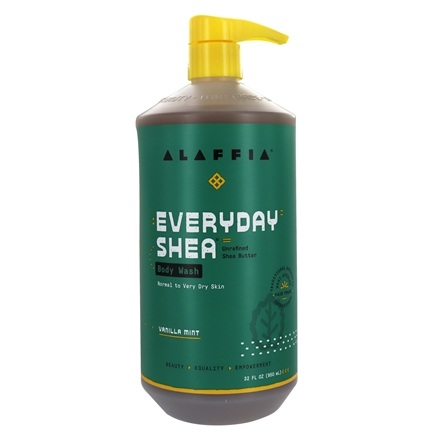 Everyday Shea - Moisturizing Body Wash Vanilla Mint - 32 oz.