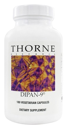 Thorne Research - Dipan-9 1000 mg. - 180 Vegetarian Capsules