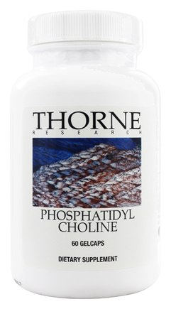 Thorne Research - Phosphatidyl Choline - 60 Gelcaps