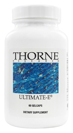 Thorne Research - Ultimate-E - 60 Gelcaps