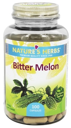 Nature's Herbs - Bitter Melon 450 mg. - 100 Capsules