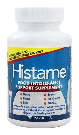 Naturally Vitamins - Histame Food Intolerance Support - 30 Capsules