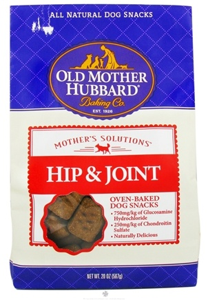 DROPPED: Old Mother Hubbard - Mother's Solutions Hip & Joint Dog Treats - 20 oz. CLEARANCE PRICED