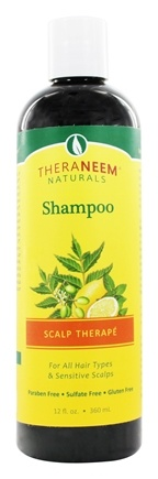 Organix South - TheraNeem Scalp Therape Shampoo - 12 oz.