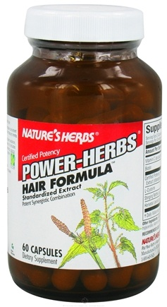 DROPPED: Nature's Herbs - Power-Herb Hair Formula - 60 Capsules