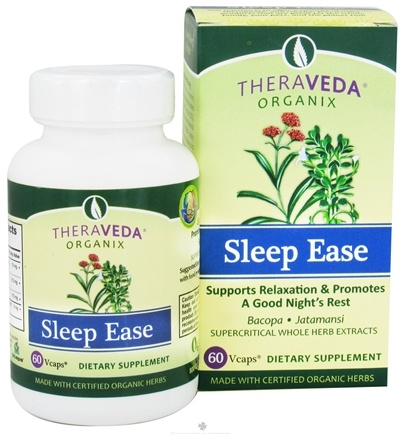 DROPPED: Organix South - TheraVeda Sleep Ease - 60 Vegetarian Capsules