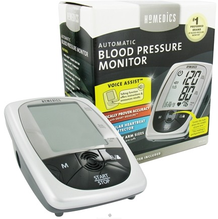 DROPPED: HoMedics - Automatic Blood Pressure Monitor with Voice Assist BPA-260-CBL - CLEARANCE PRICED