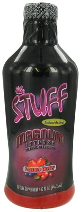 DROPPED: Detoxify Brand - The Stuff Magnum Intense Herbal Cleansing Power Berry - 32 oz.