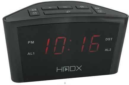 DROPPED: HoMedics - HMDX Eclipse Alarm Clock HX-B040 - CLEARANCE PRICED