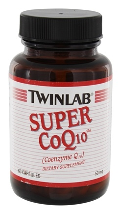 DROPPED: Twinlab - Super CoQ10 50 mg. - 60 Capsules