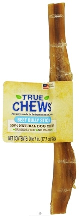 DROPPED: True Chews - Beef Bully Stick For Dogs - 7 in.
