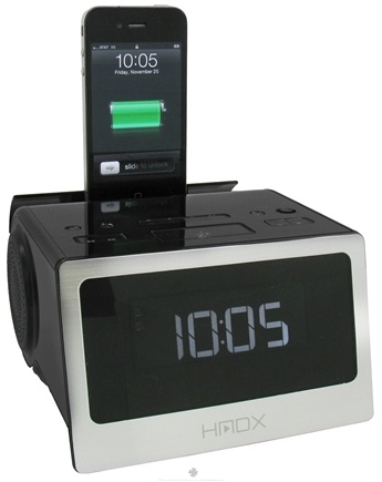 DROPPED: HoMedics - HMDX Flow Alarm Clock HX-B312 - CLEARANCE PRICED