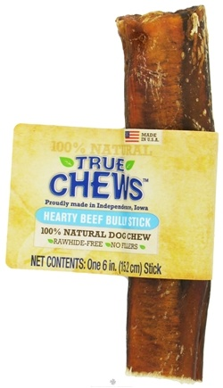 DROPPED: True Chews - Hearty Beef Bully Stick For Dogs - 6 in.