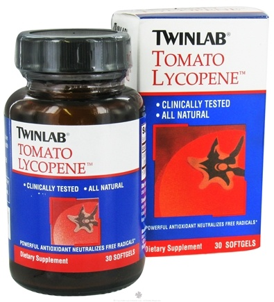 DROPPED: Twinlab - Tomato Lycopene - 30 Softgels CLEARANCE PRICED