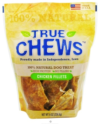DROPPED: True Chews - Chicken Fillets For Dogs - 8 oz. CLEARANCE PRICED
