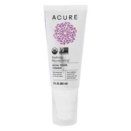 ACURE - Organic Facial Toner Balancing Rose + Red Tea - 2 oz.