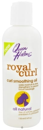 DROPPED: Queen Helene - Royal Curl Smoothing Oil - 4 oz. CLEARANCE PRICED