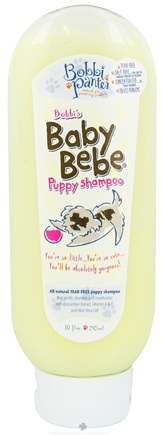 DROPPED: Bobbi Panter - Baby Bebe Puppy Shampoo - 10 oz. CLEARANCE PRICED