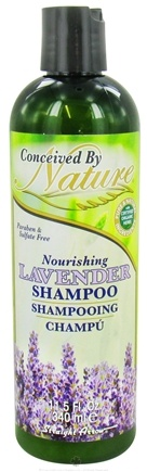 DROPPED: Conceived By Nature - Shampoo Nourishing Lavender - 11.5 oz. CLEARANCE PRICED