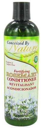DROPPED: Conceived By Nature - Conditioner Fortifying Rosemary - 11.5 oz. CLEARANCE PRICED