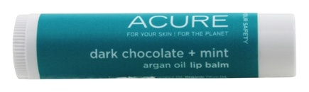 ACURE - Lip Balm Dark Chocolate + Mint - 0.15 oz.