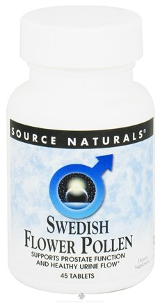 DROPPED: Source Naturals - Swedish Flower Pollen - 45 Tablets CLEARANCE PRICED