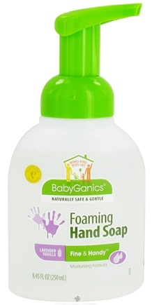 DROPPED: BabyGanics - Foaming Hand Soap Fine & Handy Lavender Vanilla - 8.45 oz. CLEARANCE PRICED