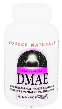 DROPPED: Source Naturals - DMAE 351 mg. - 100 Capsules