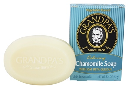 DROPPED: Grandpa's Soap Co. - Calming Chamomile Soap with Oat Beta Glucan - 3.25 oz.
