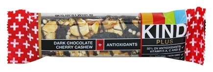 Kind Bar - Plus Antioxidant Nutrition Bar Dark Chocolate Cherry Cashew - 1.4 oz.