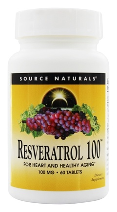 DROPPED: Source Naturals - Resveratrol 100 mg. - 60 Tablets
