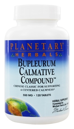DROPPED: Planetary Herbals - Bupleurum Calmative Compound 550 mg. - 120 Tablets