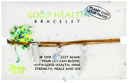 DROPPED: Zorbitz - Good Health Lucky Greenie Bracelet - CLEARANCE PRICED